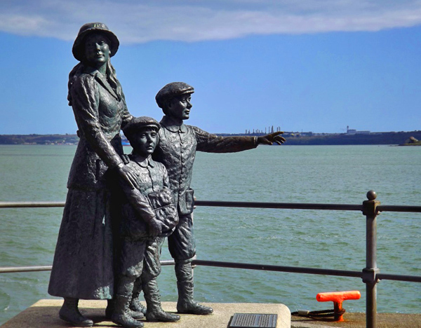 Annie Moore Statue, Cobh, County Cork